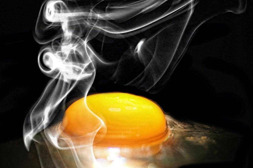 frango e ovo